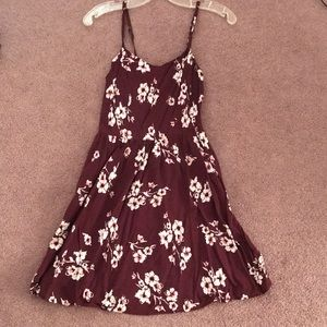 Gently Used GARAGE Brand Floral Summer Dress